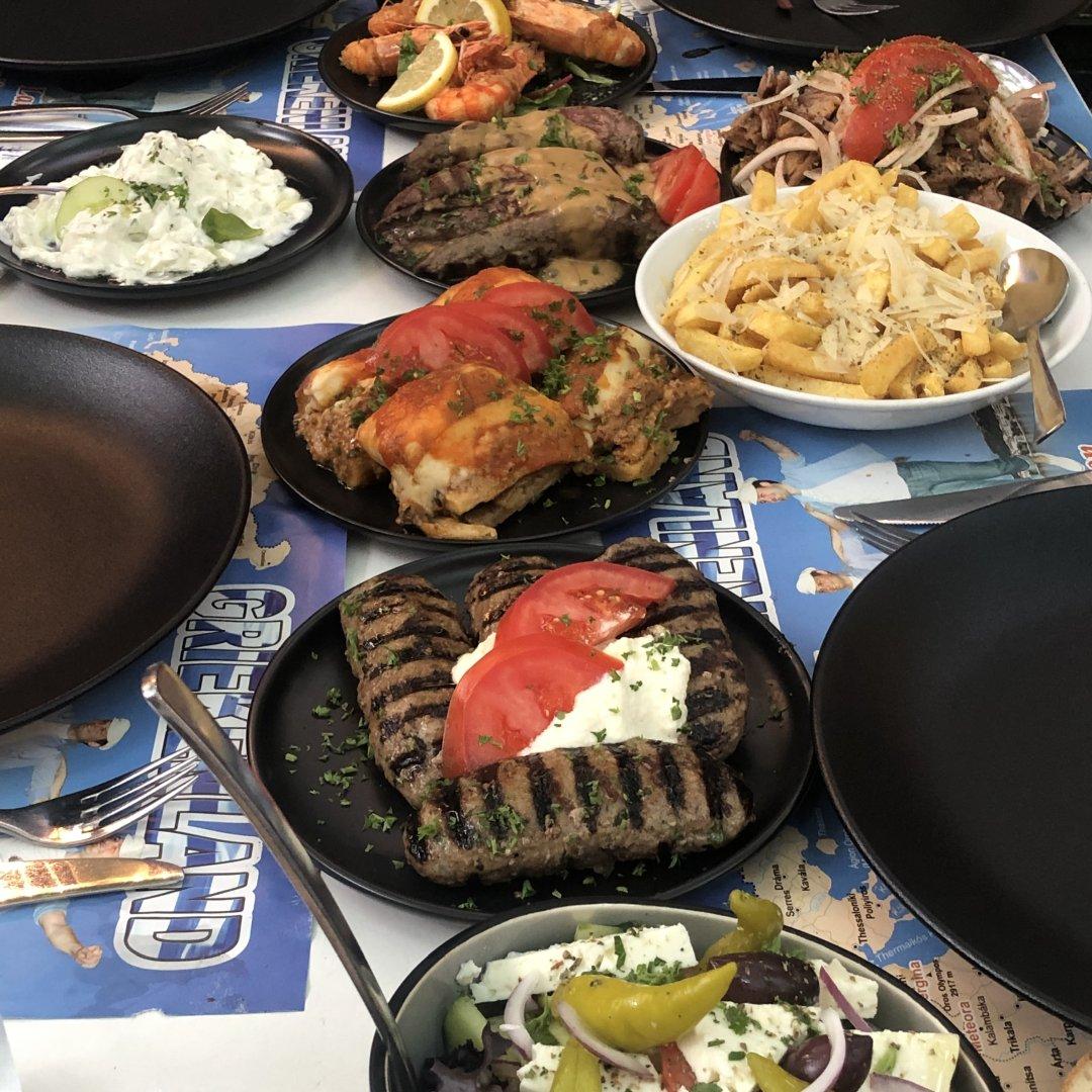 Griekse tafel Restaurant Akropolis Voorschoten 30